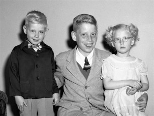 Robert & Jackie Ulmer with Charlie Lichtenhan 1953