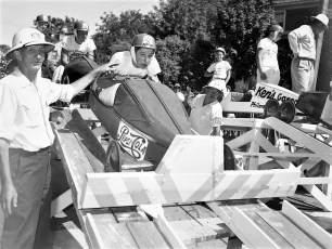 Soap Box Derby Bill Banks driver 1954