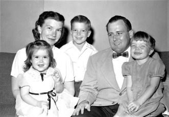 The Mesick Family Linlithgo 1955