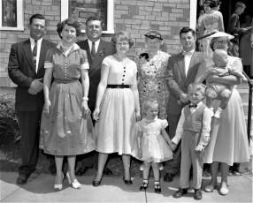 The Stark Family Ghent 1956