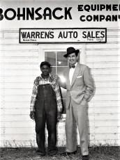 Warren Bohnsack & Willie Richardson 1959