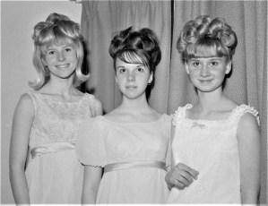 Lorinda Fingar, Marilyn Meacher & Linda Kukon 1967
