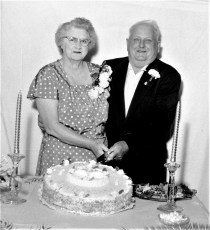 Luther and Elva Funk's 50th Wedding Anniversary G'town 1965