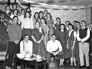 Marjorie von der Osten Birthday Party 1960