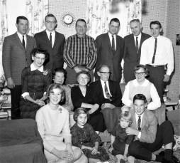 Mr. & Mrs. Sherwood Mickle Family 1963