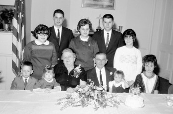 Floyd and Mabel Kukon's 50th Anniversary 1966