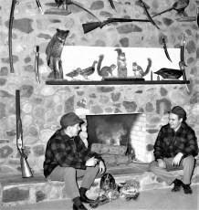 Vic and Ralph DelPozzo at Ralph's Gun Shop 1968