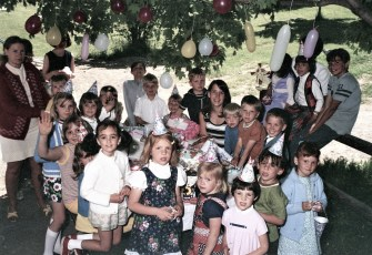 Chris Grunwald Birthday Party 1971