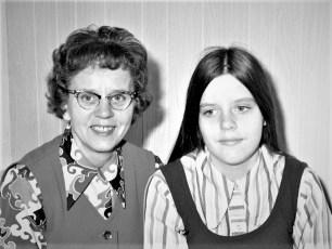 Herta & Nancy Ellsworth 1972