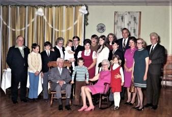 Mr. & Mrs. John Simmons 50th Anniversary Livingston 1970