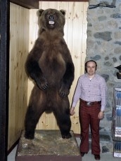 Ralph DelPozzo with Alaskan Brown Bear 1974