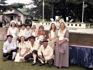 Rojeski Family at Clermont Days 1976