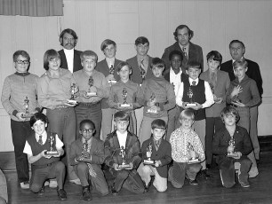 Elk's LL Awards Banquet with NY Yankee Mike Kekich 1972 (10)