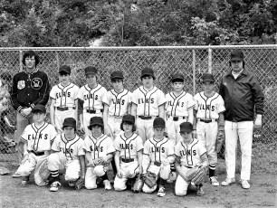 Elk's Little League Teams Hudson 1973 (4)