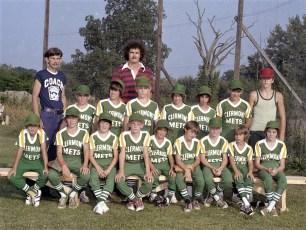 Germantown Little League Clermont Mets 1975