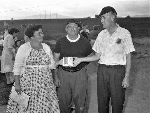G'town LL All Star Game Day Awards Jean Coons, Archie Coons, Charlie Anderson 1961