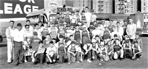 G'town LL & Boy Scouts at Yankee Stadium 1958