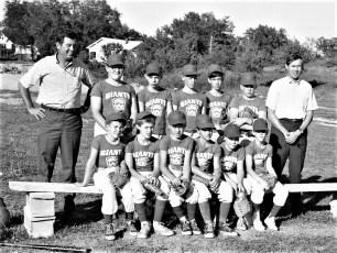 G'town LL Giants Bob Rider & Peter Fingar Managers 1968