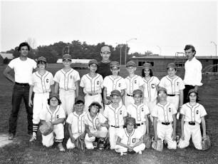 G'town Little League Cardinals 1974