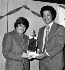 Hudson Elk's Little League Awards Dinner with Yankee Roy White 1971 (3)
