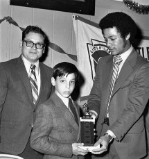 Hudson Elk's Little League Awards Dinner with Yankee Roy White 1971 (4)