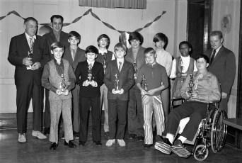 Hudson Elk's Little League Awards Dinner with Yankee Roy White 1971 (6)