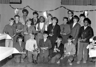 Hudson Elk's Little League Awards Dinner with Yankee Roy White 1971 (7)