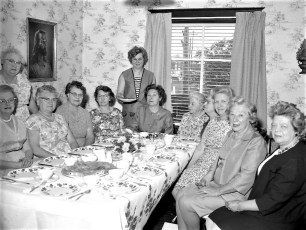 Christ's Lutheran Church Busy Bee Luncheon Viewmont 1967