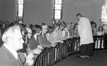 Christ's Lutheran Church Communion Viewmont 1977
