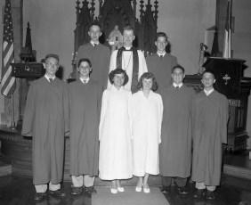 Christ's Lutheran Church Confirmation Class Viewmont 1956