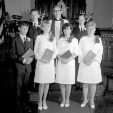 Christ's Lutheran Church Confirmation Viewmont 1967