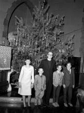 Christ's Lutheran Church Rev. Osterloh with Sunday School Children Viewmont 1964