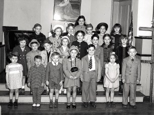 Luth Ch Easter Sunday School Class 1948 1