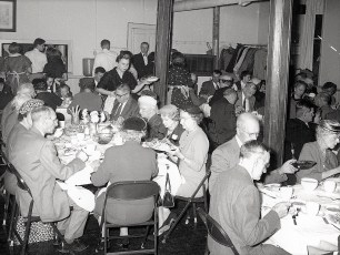 Lutheran Church Thanks giving Dinner 1957 1 - Copy