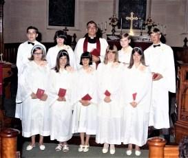 St. Paul's Lutheran Church Confirm. Class Red Hook 1968