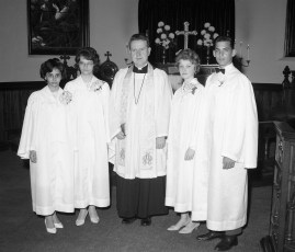 St. Paul's Lutheran Church Confirmation Red Hook 1963