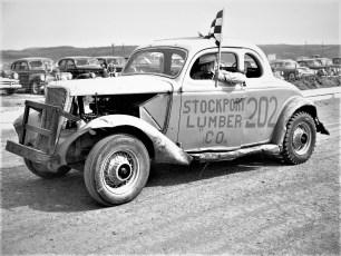 Mellenville Stock Car Races 1950 (14)