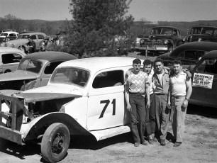 Stock Cars Mellenville NY 1951 (9)