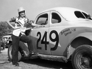 Stock Cars Mellenville NY Byron Fisher 1951