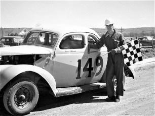 Stock Cars Mellenville NY Warren Bohnsack 1951