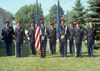 Memorial Day Red Hook VFW Color Guard 1970
