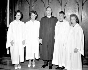 Methodist Church Confirmation G'town 1963 (1)