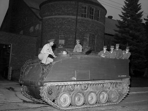 NYS Nationl Guard 152nd Engineer Battalion deploys to camp Hudson 1959 (3)