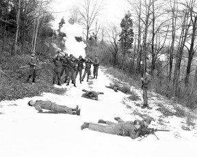National Guard winter drill Hudson 1965