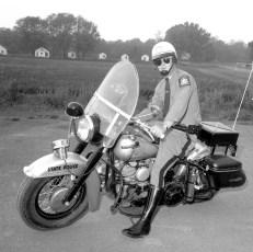 Motorcycle Trooper James Miller Leeds Barracks 1963
