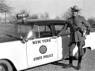 NYS Trooper J.J. Arre 1956