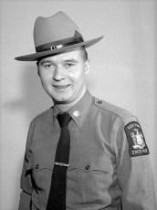 NYS Trooper Kilfoyle Claverack Barracks 1958