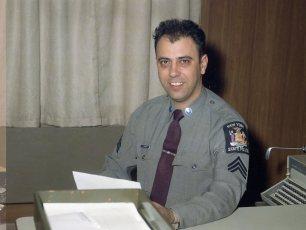 NYS Trooper Sergeant Fremante 1968