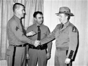 NYS Trooper Shooting Award Sgt. Brady, Sgt. Fremante, Trooper Konow 1968