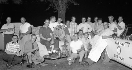 NYS Troopers Claverack & City of Hudson Police joint clam bake 1959 (1)